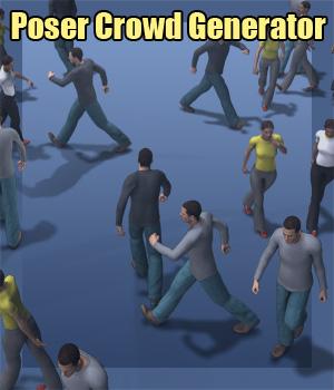 f68_Poser Crowd Generator