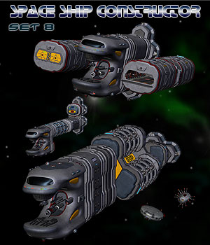 Space Ship Constructor Set 8
