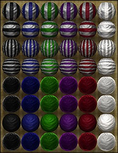 Fabulous Stripes- Shaders for DAZ Studio and Poser