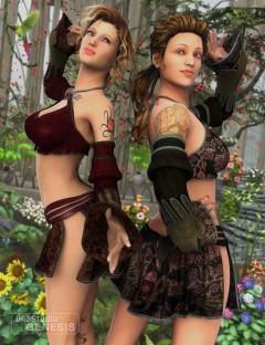 Gypsy Dancer Textures