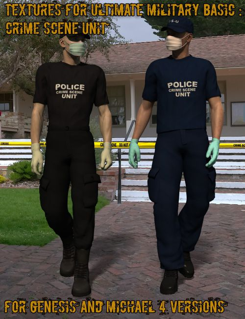 Crime Scene Analysis : Textures for Ultimate Military Basic
