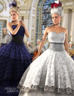 Princess Ballgown Textures