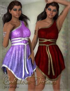 Callidora Outfit Textures