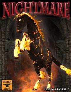 DA Nightmare for DAZ Horse 2