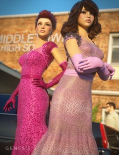 Prom Night for Evening Gown for Genesis 2 Female(s)