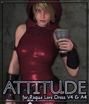 ATTITUDE for Rogue Lore Dress V4 & A4