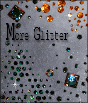 More Glitter Styles & Brushes