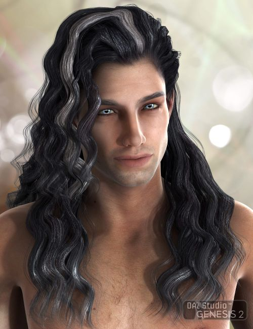 Julius Hair for Genesis 2