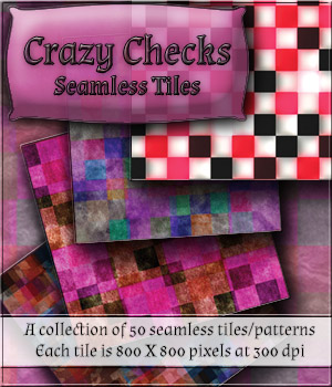 Crazy Checks - Seamless Tiles