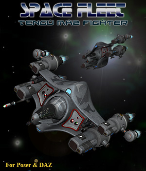 Space Ship Tengu MK2