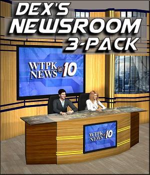 Dex's Newsroom 3-Pack