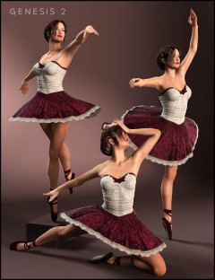 Classical Ballet Poses for Genesis 2 Female(s)