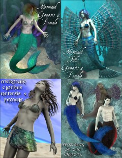 Mermaid Genesis 2 Female(s) Mega Bundle