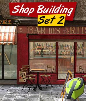 Shop Building Set 2