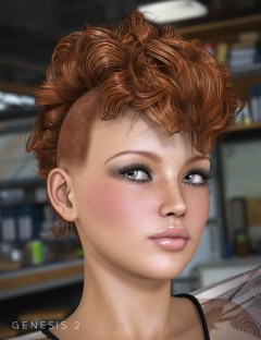 Gothic Hair for Genesis and Genesis 2 Female(s)