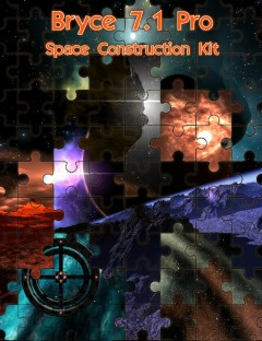 Bryce 7.1 Pro- Space Construction Kit