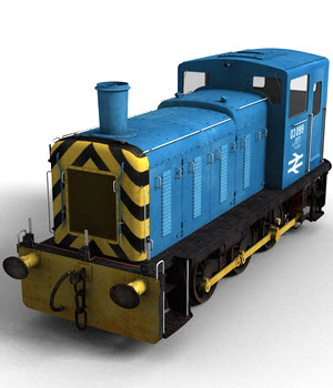 Class 03 Diesel Shunter
