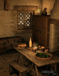 Medieval Merchants House Bundle