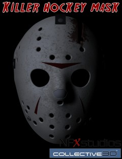 Killer Hockey Mask