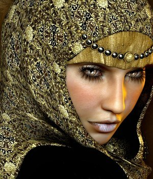 Exotique for Grace Headdresses