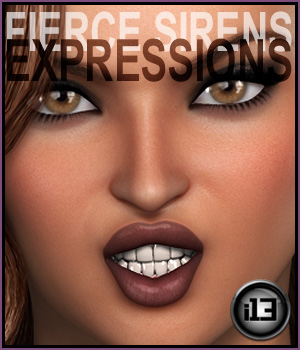 i13 Fierce Siren EXPRESSIONS for G2F/V6