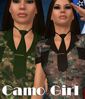 Camo Girl for Sexy Fancy 1