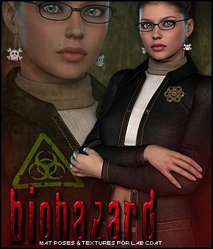 Biohazard for Lab Coat