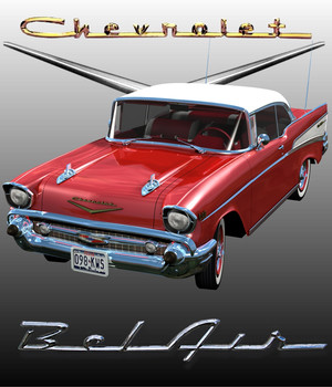 CHEVROLET BEL AIR HARD TOP 1957