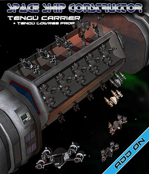 Space Ship Constructor Tengu Carrier