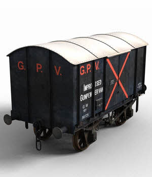 GWR Gunpowder Van