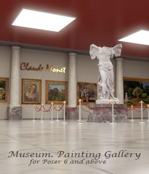 AJ Museum. Painting Gallery