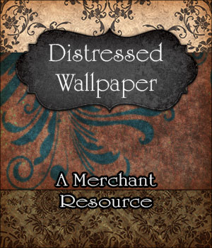 Merchant Resource - Distressed Wallpaper