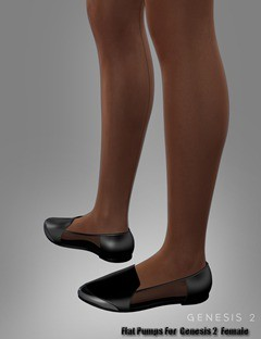 Flat Pumps For Genesis 2 Female(s)