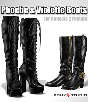 Phoebe & Violette Boots for G2f