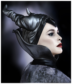 GCD - Fantasy Queen Head & Neck Pieces