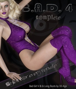 B.A.D.4 Complete - Bad Girl V & In Long Boots