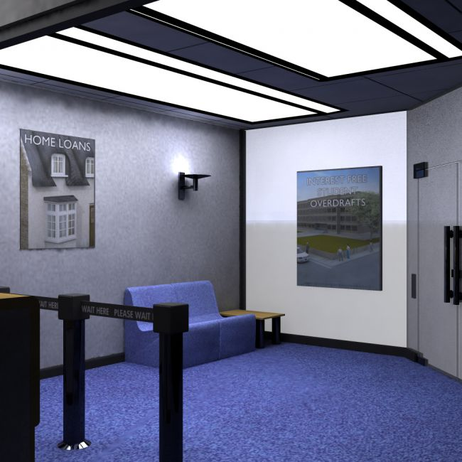 Modern Bank (for Poser)