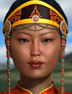Mongolian Beauty- HD Faces and Morphs