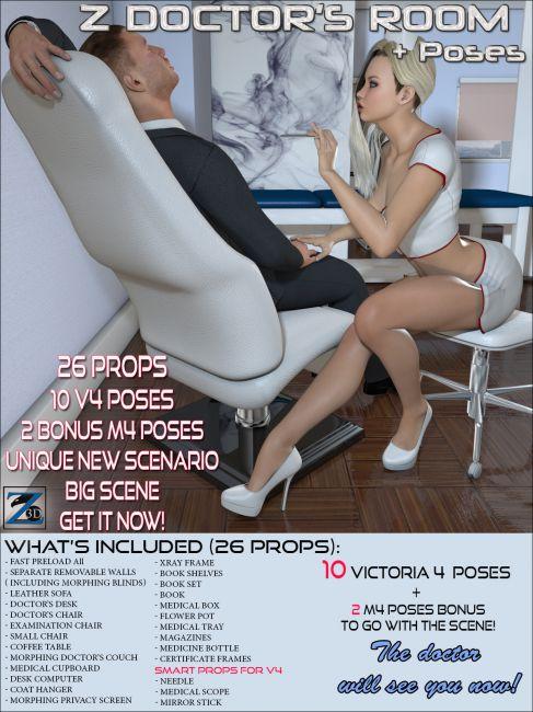 Z Doctor's Room + Poses