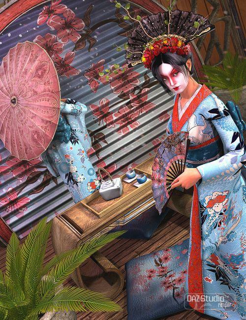 Geisha Prop Collection