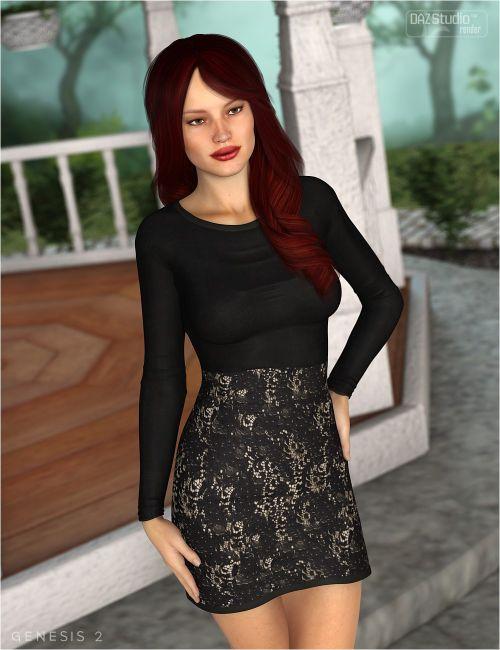 Classique Dress for Genesis 2 Female(s)