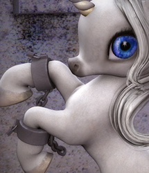 Hoof Shackles for the Baby Unicorn