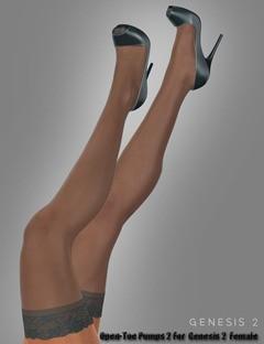 Open-Toe Pumps 2 For Genesis 2 Female(s)
