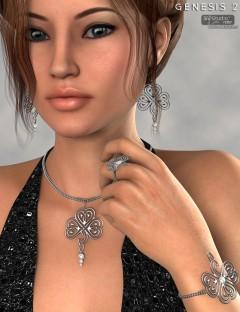 Siobhan Jewelry for Genesis 2 Female(s)