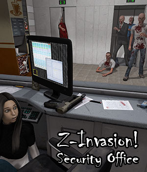 Z-Invasion! Security Office