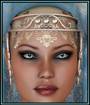 Oriental Fascination for Headdresses Grace