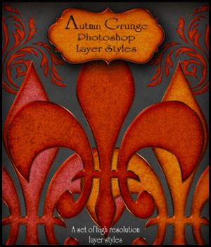 Autumn Grunge PS Styles