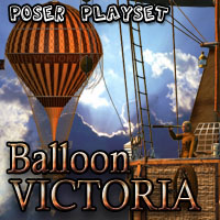 Balloon Victoria- Extended License