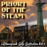 Priory of the Steam- Extended License