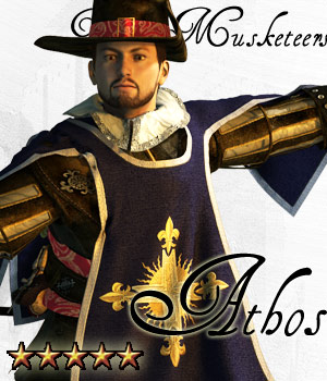 Three Musketeers - Athos - Extended License